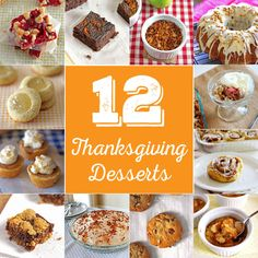 12 Thanksgiving Dessert alternatives that are a welcomed change from the typical pumpkin pie!
