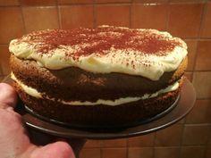 gluténmentes répatorta tejmentesen Tiramisu, Paleo, Gluten, Ethnic Recipes, Food, Essen, Beach Wrap, Meals, Tiramisu Cake