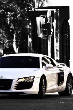 Audi R8 White | My Dream Garage | Pinterest | Audi R8 White, Dream Garage  And Cars