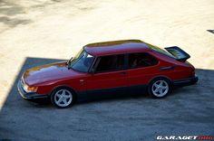 Garaget   Saab 900 T16 (1991)