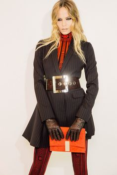 Versace Fall 2015 RTW Backstage – Vogue