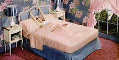 simmons beautyrest mattress 1947 Bedroom Vintage, Vintage Decor, Retro Vintage, Simmons Beautyrest, 1940s Home, Time Warp, Sleep Well, Vintage Interiors, Real Housewives