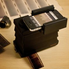 How amazing is this? Lomography #Smartphone Film Scanner