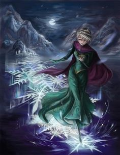 Disney Art / Frozen / Princess