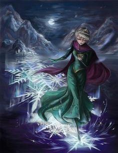 Disney Art / Frozen / Princess