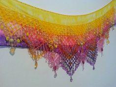 Belly Dance, Tapestry, Bikini, Art, Dance Accessories, Dip Dyed, Gypsy Clothing, Infinity, Crochet Boys