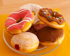 felt food - doughnuts