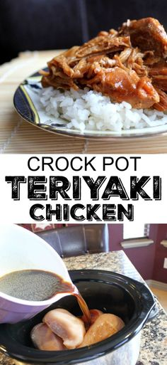 Tasty Teriyaki Chicken (Crock Pot) Fabulous Teriyaki chicken from Jamie Cooks It Up! My family loves this super simple, yet fabulous tasting dinner. The post Tasty Teriyaki Chicken (Crock Pot) & Jamie Cooks It Up! appeared first on Food . Crock Pot Cooking, Crock Pot Slow Cooker, Slow Cooker Recipes, Beef Recipes, Cooking Food, Cooking Utensils, Crock Pots, Camping Cooking, Simple Crockpot Chicken Recipes