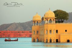 Jaipur - Rajasthan, India | Cosmin Danila Photography - I See Beautiful People Jal Mahal served as a hunting palace since the time it was built by Sawai Pratal Singh in 1799