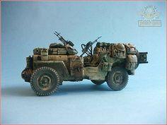 """Yoryi (puntocom) - Modelismo y Maquetas - Jeep SAS """"Light"""", (1º de 2º) - Proyectos terminados"""