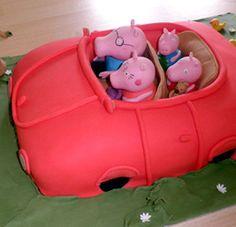 PEPPA PIG CAKE --Contact Us   The Whimsical Cake Company   07515 941 541   Leeds UK   skye@thewhimsicalcakecompany.co.uk