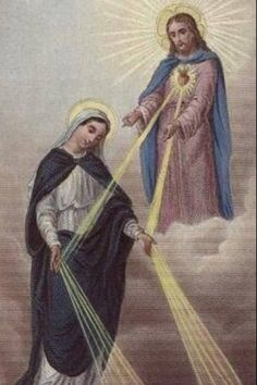 Beautiful depiction of what Catholics believe about Mary.