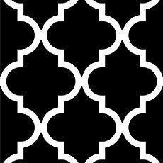 Quatrefoil Inverse Stencil - Dixie Belle Paint Co. Printable Stencil Patterns, Wall Stencil Patterns, Stencil Painting, Stencil Designs, Paint Designs, Bird Stencil, Damask Stencil, Faux Painting, Stenciling