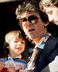 George Harrison Photo - Rock & Roll Dads | Rolling Stone....BELLA DONNA