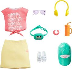 Barbie Doll Set, Baby Barbie, Mattel Barbie, Barbie And Ken, Barbie Dress, Barbie Outfits, Barbie Clothes, Roxy Clothing, Poupées Our Generation