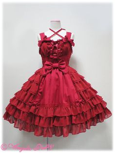 Lolibrary | Angelic Pretty - JSK - Princess Tiara JSK. if I took off the bow in the front.... I Would wear this