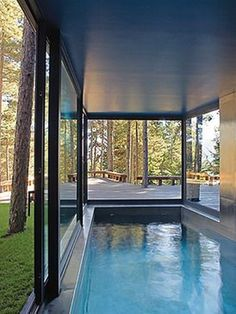 8 best residential retractable swimming pool enclosures images rh pinterest com