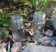 Two Vintage Wheaton Canning Jars Complete with Side by Andie83, $9.50