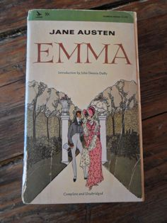 Paperback edition of EMMA by Jane Austen