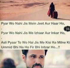 na umeed pa zinda hu . na kisse ka intzar hai . Desi Quotes, Love Quotes In Hindi, Jokes Quotes, Sad Quotes, Lyric Quotes, Lyrics, Sad Love, What Is Love, Poetry Quotes