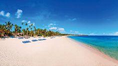 Einen echten Traumstrand hat auch das 5-Sterne-Hotel Meliã Caribe Tropical in der Dominikanischen Republik zu bieten.