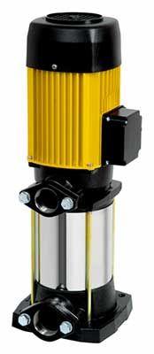 Multi 25 , Multi 35 N, Multi 55N - pompa #centrifuga #multicelulara #verticala. Ideala in sisteme de pompare ( hidrofoare ) comandata de dispozitive electronice cu functionare la presiune constanta.