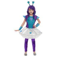 Disfraz de Extraterrestre Espacial para Niña