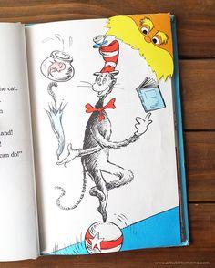 Celebrate Dr Seuss' birthday with Free Printable Lorax Corner Bookmarks! #drseuss #bookmark #lorax #printable #freebie #freeprintable #kids #kidscraft #kidsactivities