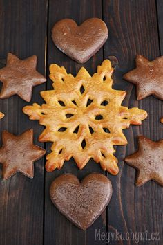 Klasické měkké perníčky (videorecept) - Meg v kuchyni Almond Cookies