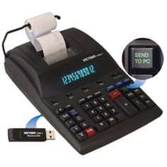 Victor 1280-7 Heavy Duty Commercial Calculator