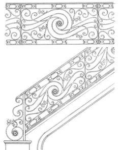Stair Railing Designs ISR102