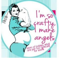I'm so crafty, I make angels