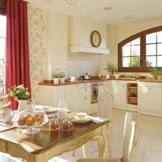 COCINA DULCE COCINA Nos encanta como está decorada esta cocina ¿A vosotros home lovers? www.westwing.es