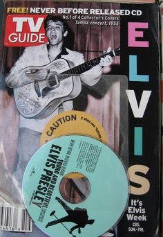 *TV GUIDE ~ Elvis Presley on cover