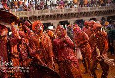 The celebration of Holi as Vasanta Utsav (Spring Festival) in Shantiniketan was started by famous Bengali poet and Nobel Laureate Rabindranath Tagore.