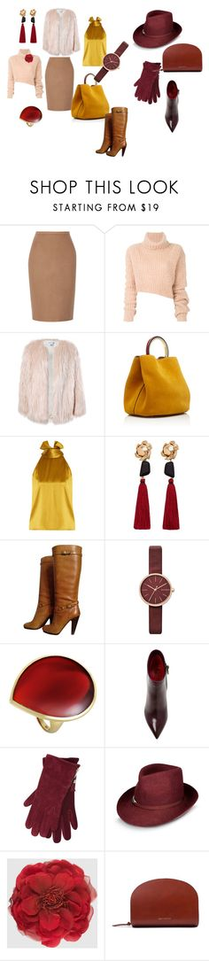 """Modern classic yellow / purple set"" by katerina-lyubimova on Polyvore featuring мода, MaxMara, Ann Demeulemeester, Sans Souci, Marni, Galvan, MANGO, Ash, Skagen и Ippolita"