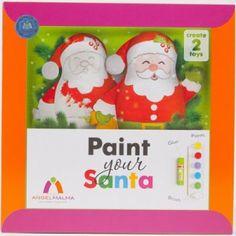 Décoration de Noël : Peints ton père Noël!