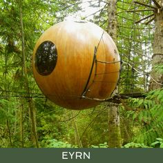 Free Spirit Spheres - Suspended Spherical Treehouses