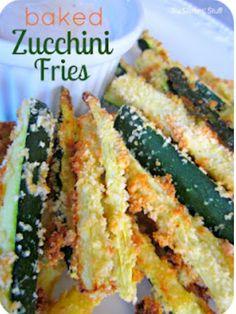 Zucchini fries!
