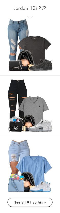Jordan 12s by prinxcess-adri ❤ liked on Polyvore featuring Ralph Lauren, NIKE, Tod's, Vibrant, Polo Ralph Lauren, L.L.Bean, ban.do, MCM, Retrò and MICHAEL Michael Kors