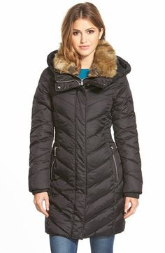 a9e8e16fd91 DKNY Puffer coat Black Parka