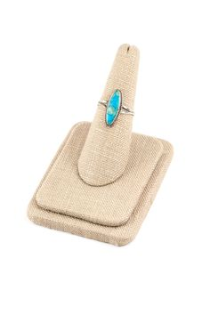 50's__Vintage__Turquoise Sterling Ring