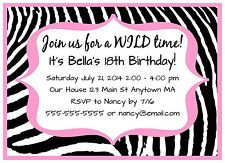 birthday invitation quinceanera celebration 15th