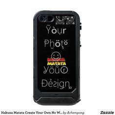 Hakuna Matata Create Your Own No Worries design #Cute nice lovely #Hakuna Matata iPhone SE/5/5S Cases