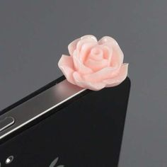 These Phone Plugs Have Been Designed to Look Like Blooming Roses trendhunter.com