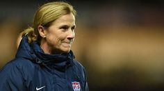The FIFA Weekly caught up with USA coach Jill Ellis to discuss her passion for the game, her thoughts on other team's chances at Canada veteran stars serving as role models and much more. Fifa Women's World Cup, Role Models, Coaching, Windbreaker, Soccer, Style Inspiration, United States, Quotes, Templates