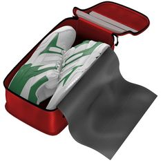 Convenient Top Handle-Just as many suitcases have wheels for ease, a Dot&Dot shoe bag has a handle on top for your convenience. This makes it easy for adults and children to store their shoes in luggage, on a closet shelf, or any other hard to reach place. For more information visit: http://dotdottravel.com/shoebag