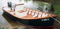 18' Atchafalaya Basin Lake Skiff  Info on building it