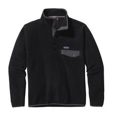A classic pullover: the Patagonia Men's Synchilla® Lightweight Snap-T® provides everyday warmth and comfort with soft double-faced fleece.