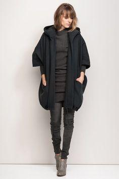 Humanoid Blackish Coat